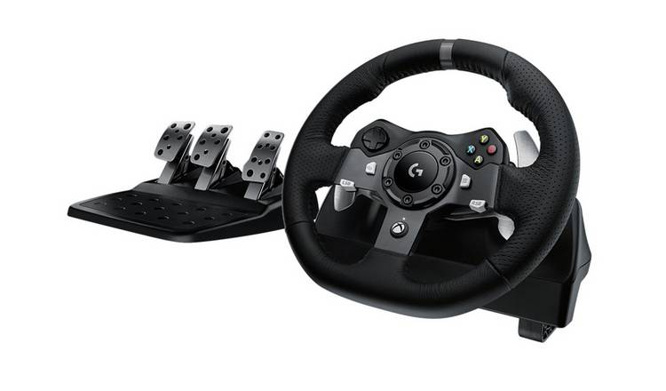 b4557d814b8 Buy Logitech G920 Driving Force Racing Wheel - Xbox One & PC | PC ...