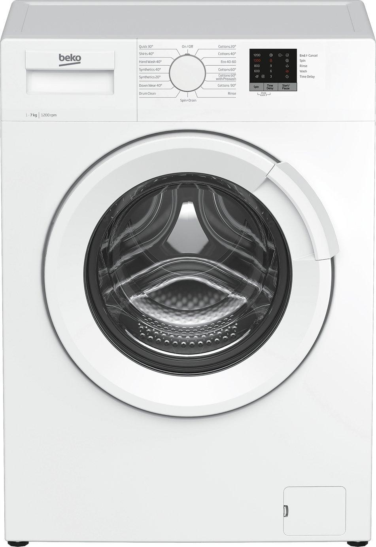 Beko WTL72051W 7KG 1200 Spin Washing Machine - White