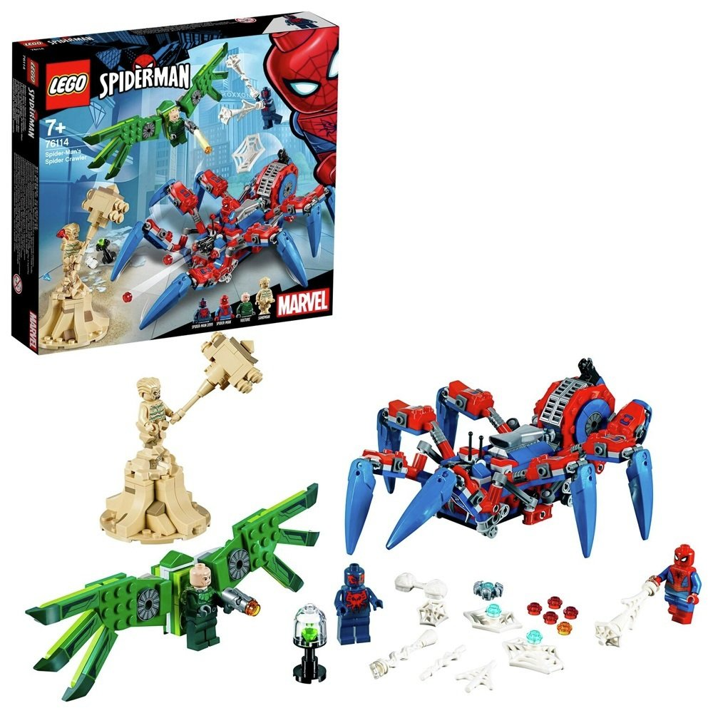 LEGO Super Heroes Spider-Man's Spider Crawler Set - 76114
