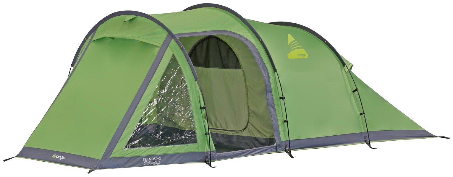 Vango Beta 350 3 Man 1 Room Tunnel Camping Tent with Porch