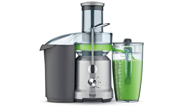 Buy Sage BJE430SIL The Nutri Cold Spin Juicer Black | Juicers and presses | Argos
