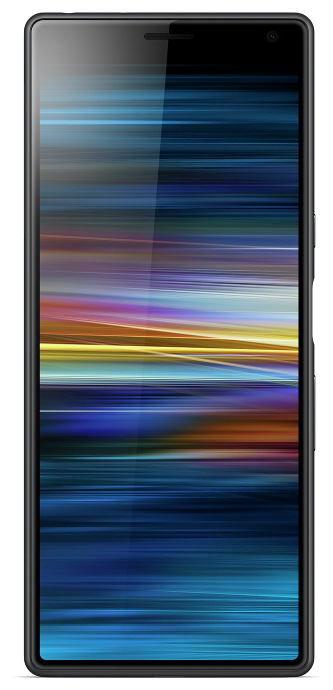 SIM Free Sony Xperia 10 64GB Mobile Phone - Black/t