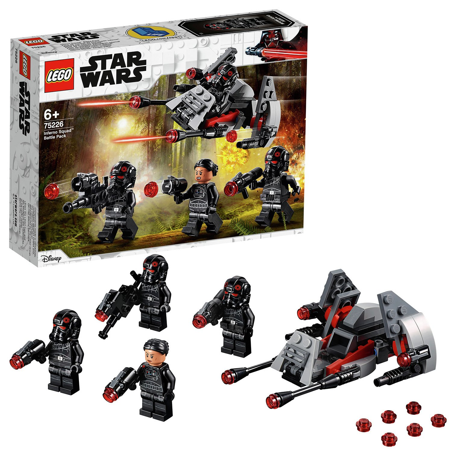 LEGO Star Wars Inferno Squad Battle Building Set - 75226