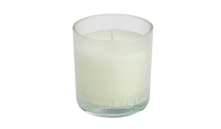 Argos Home Elderberry & Fig Leaf Ombre Candle