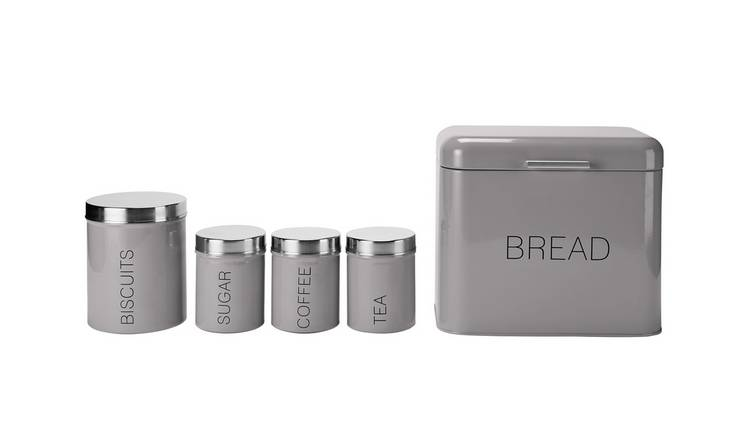 Buy Argos Home 5 Piece Kitchen Storage Set Flint Grey Storage