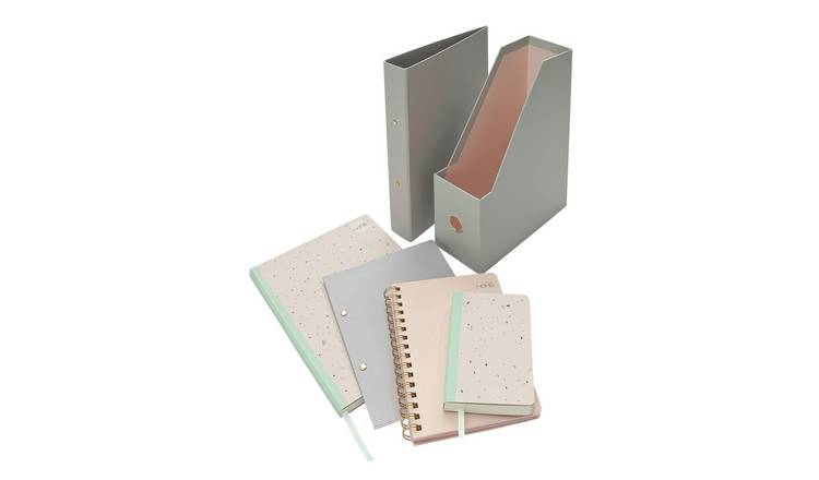 Argos Home Retreat Stationery Bundle & Folder