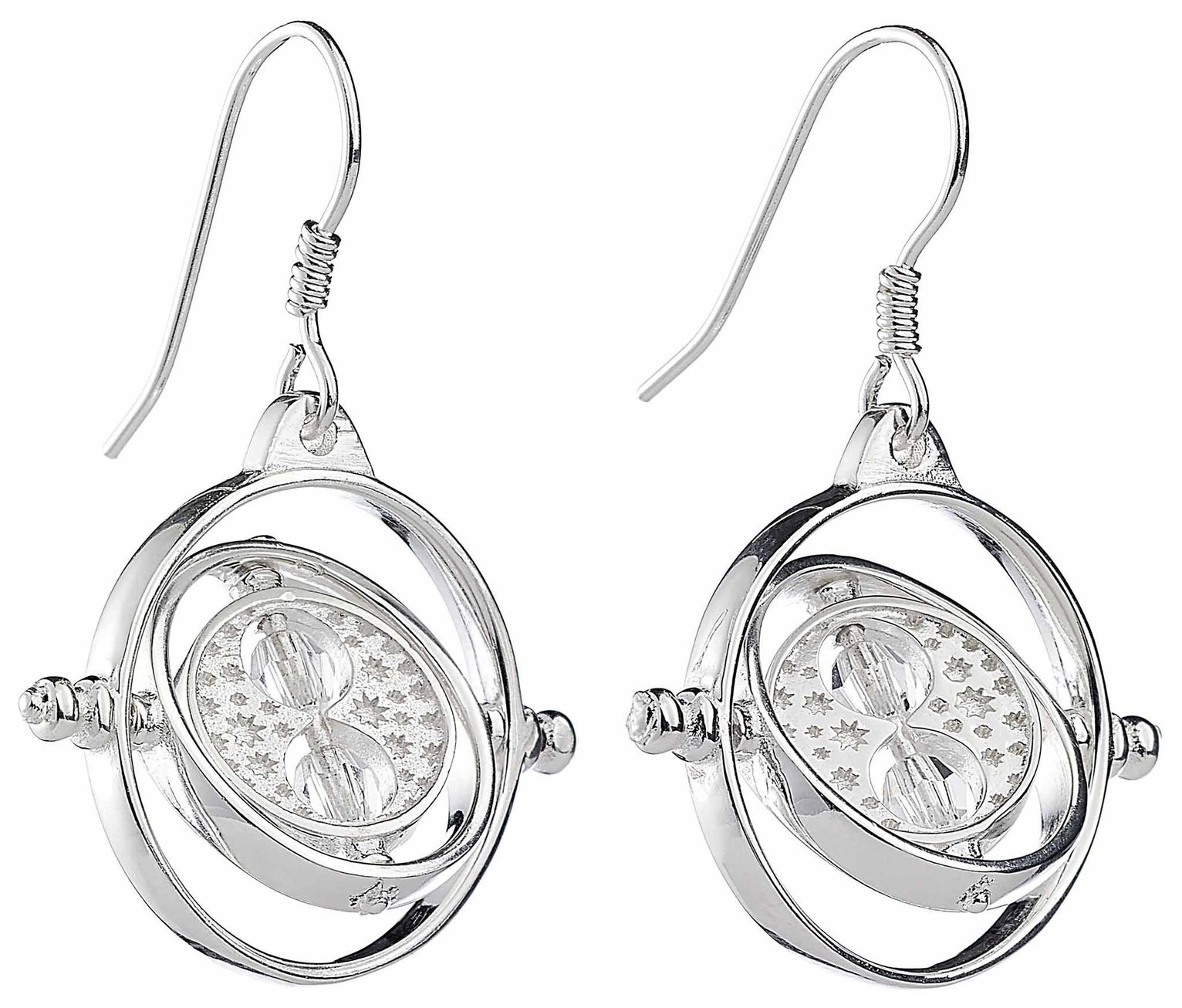 Harry Potter Time Turner Earrings with Crsytals