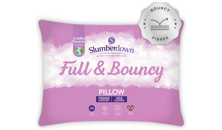 Buy Slumberdown Full And Bouncy Pillow Pillows Argos