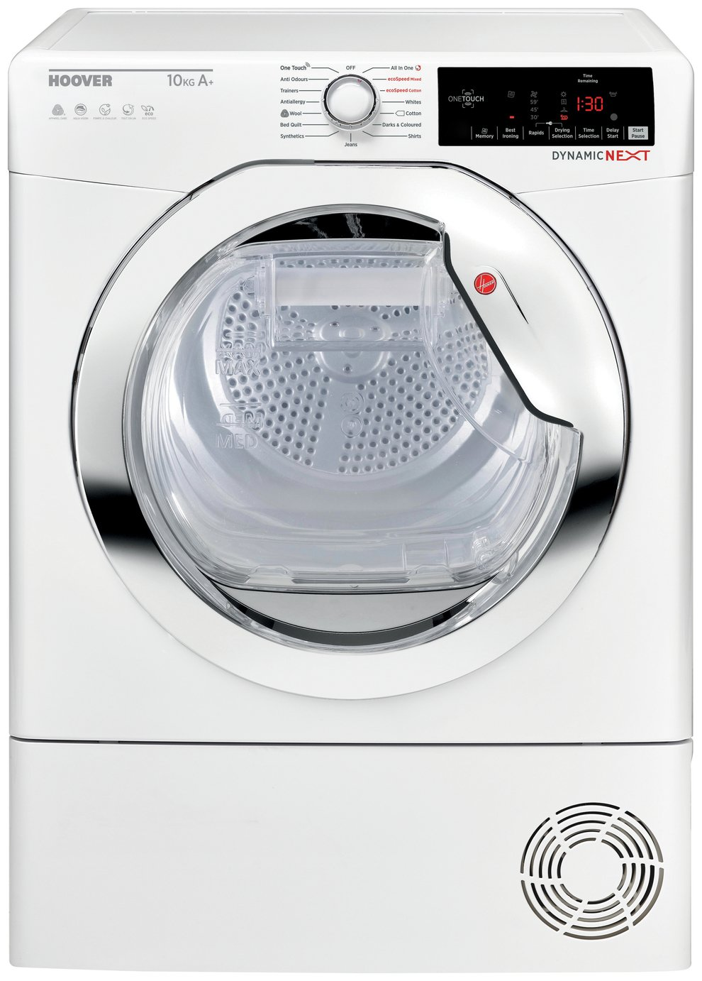 Hoover DXHY10A2TCE 10KG Heat Pump Tumble Dryer - White
