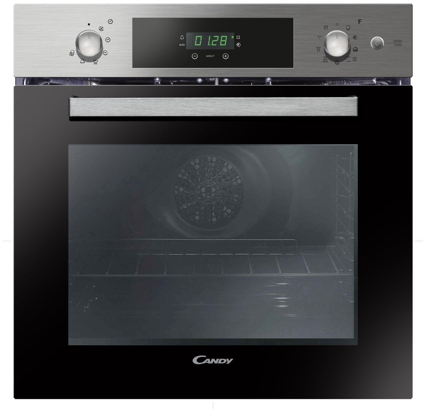 Candy FCPK618SX Single Multifunction Oven - Stainless Steel
