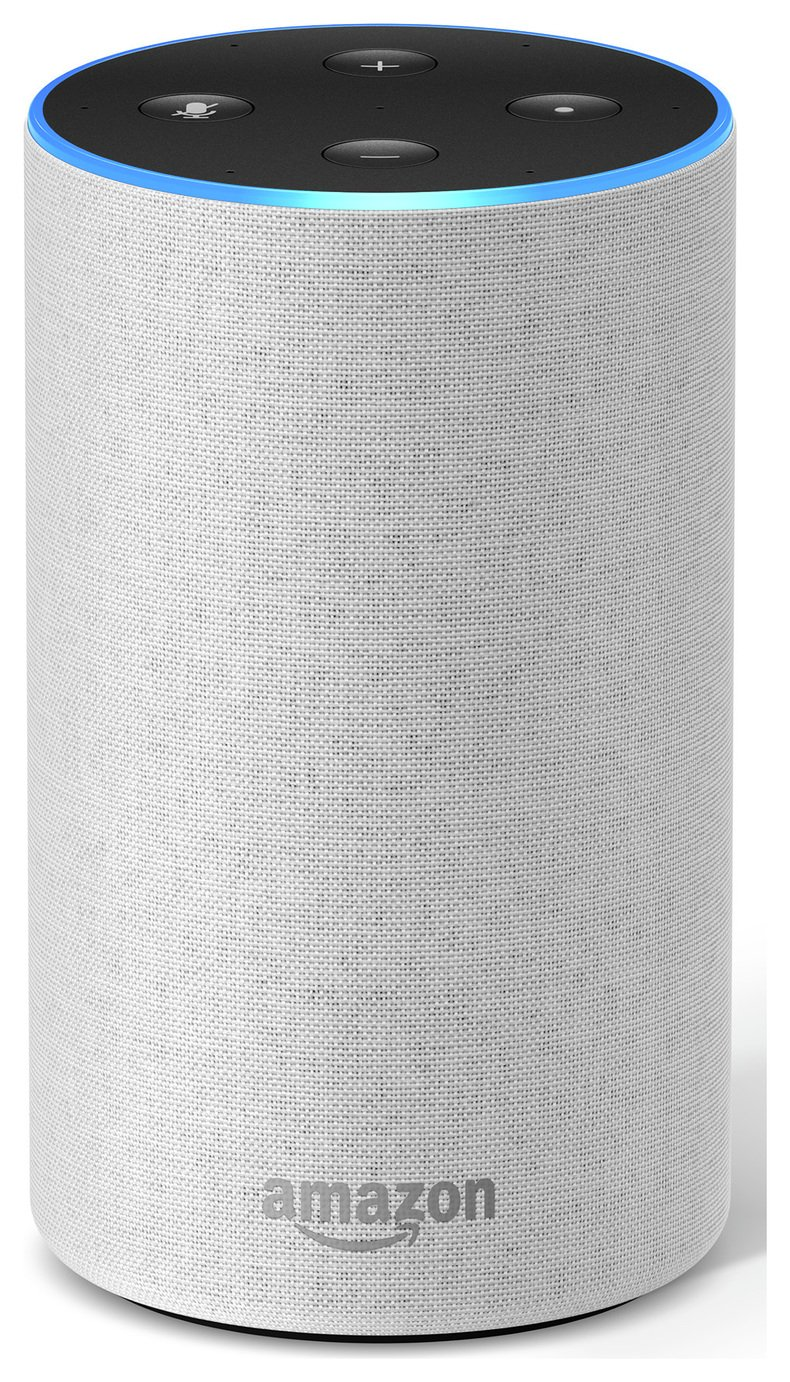 All-new Amazon Echo (2nd generation) - Sandstone Fabric