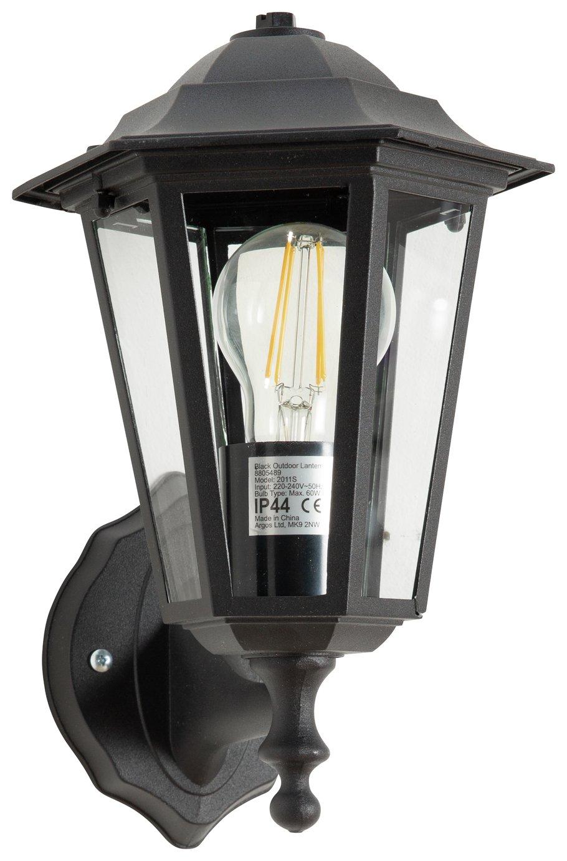 Argos Home Black Outdoor Lantern