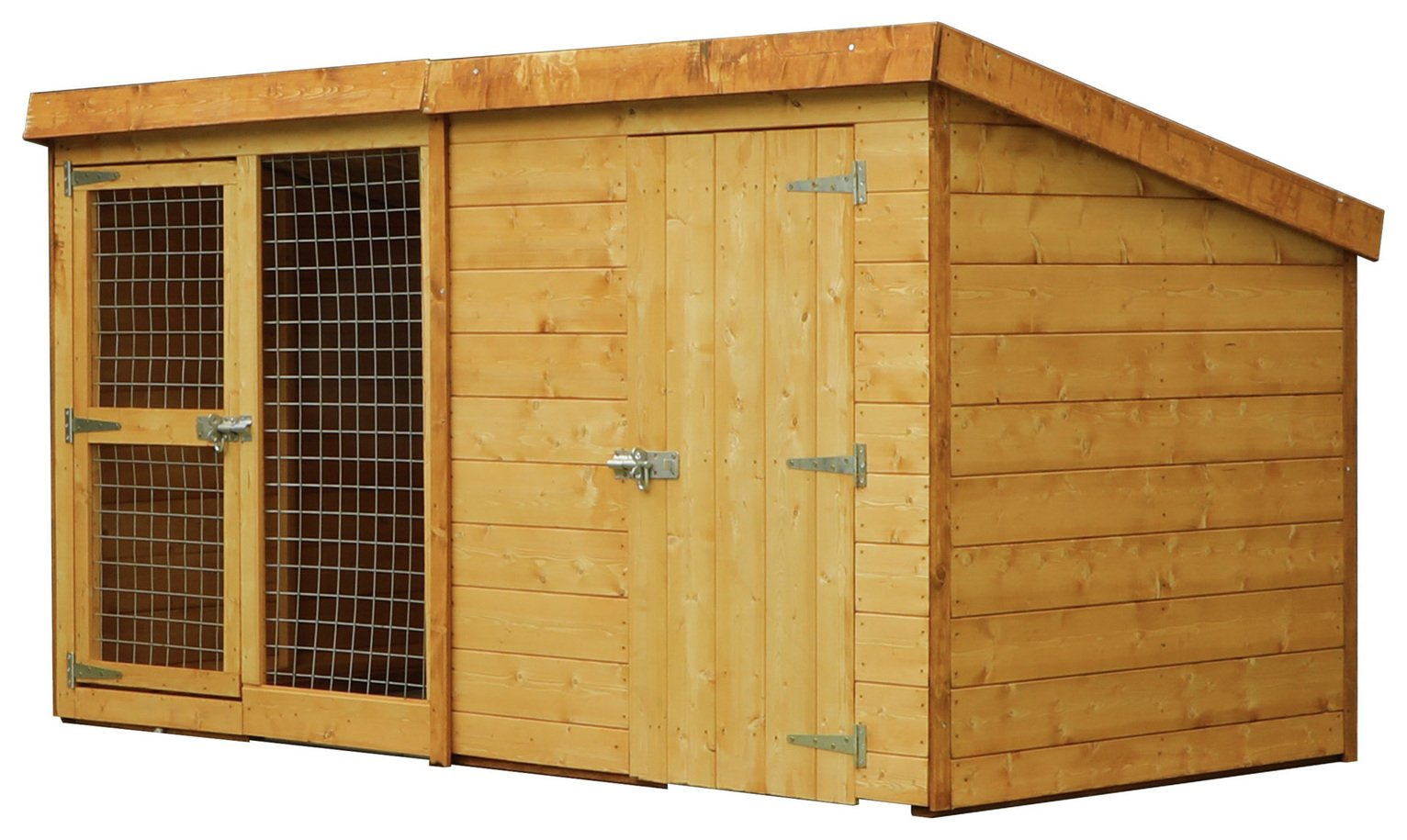 Mercia 8 x 4ft Berkshire Dog Kennel & Run