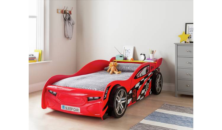 Buy Julian Bowen Racing Car Single Bed Kids Beds Argos