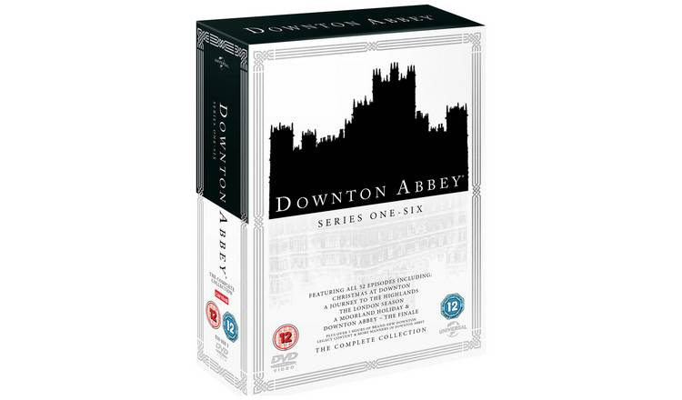 Downton Abbey: The Complete Series 1-6 DVD Box Set