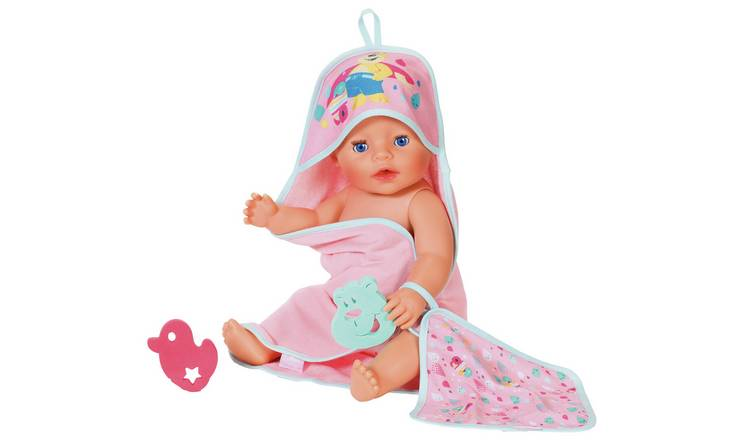 BABY born Hooded Towel Set