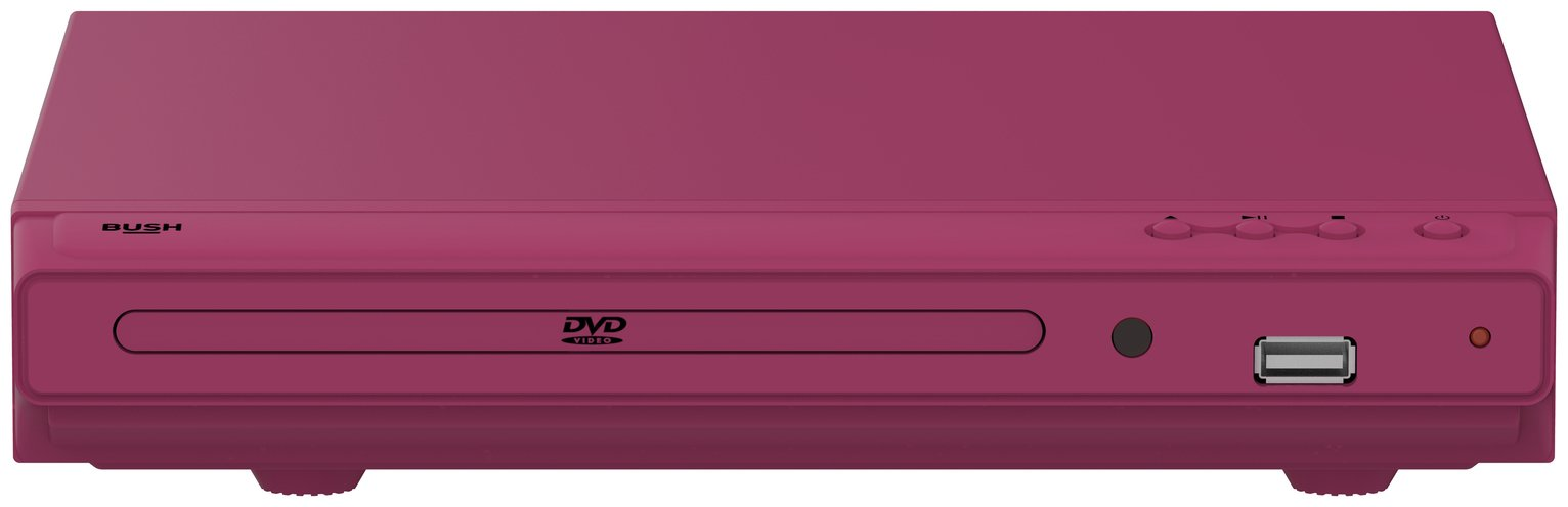 Bush DVD Player - Pink