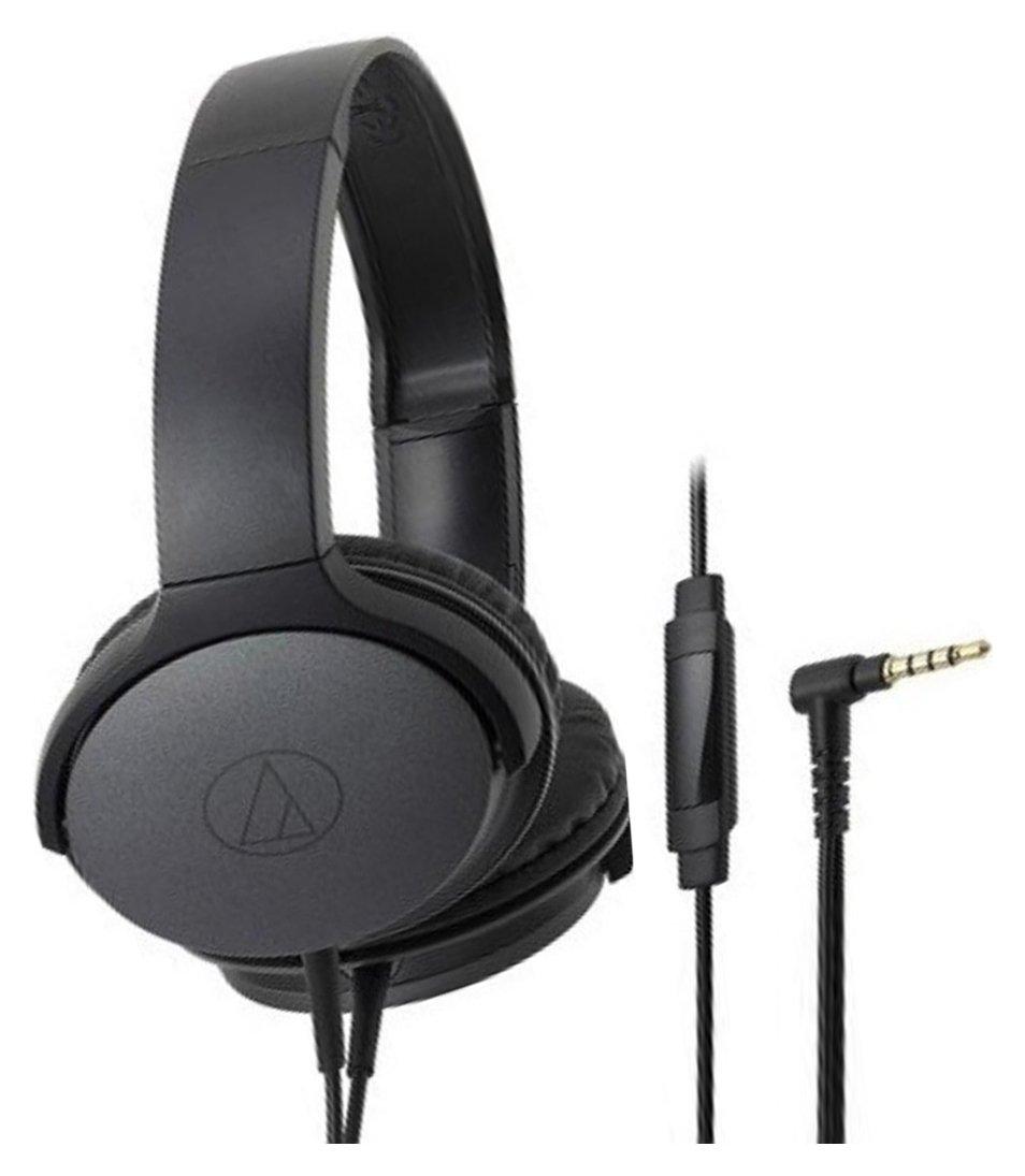 Audio Technica ATH-AR1iS On-Ear Headphones - Black