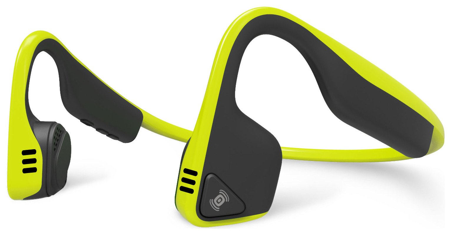 Aftershokz Trekz Titanium On-Ear Wireless Headphones - Green