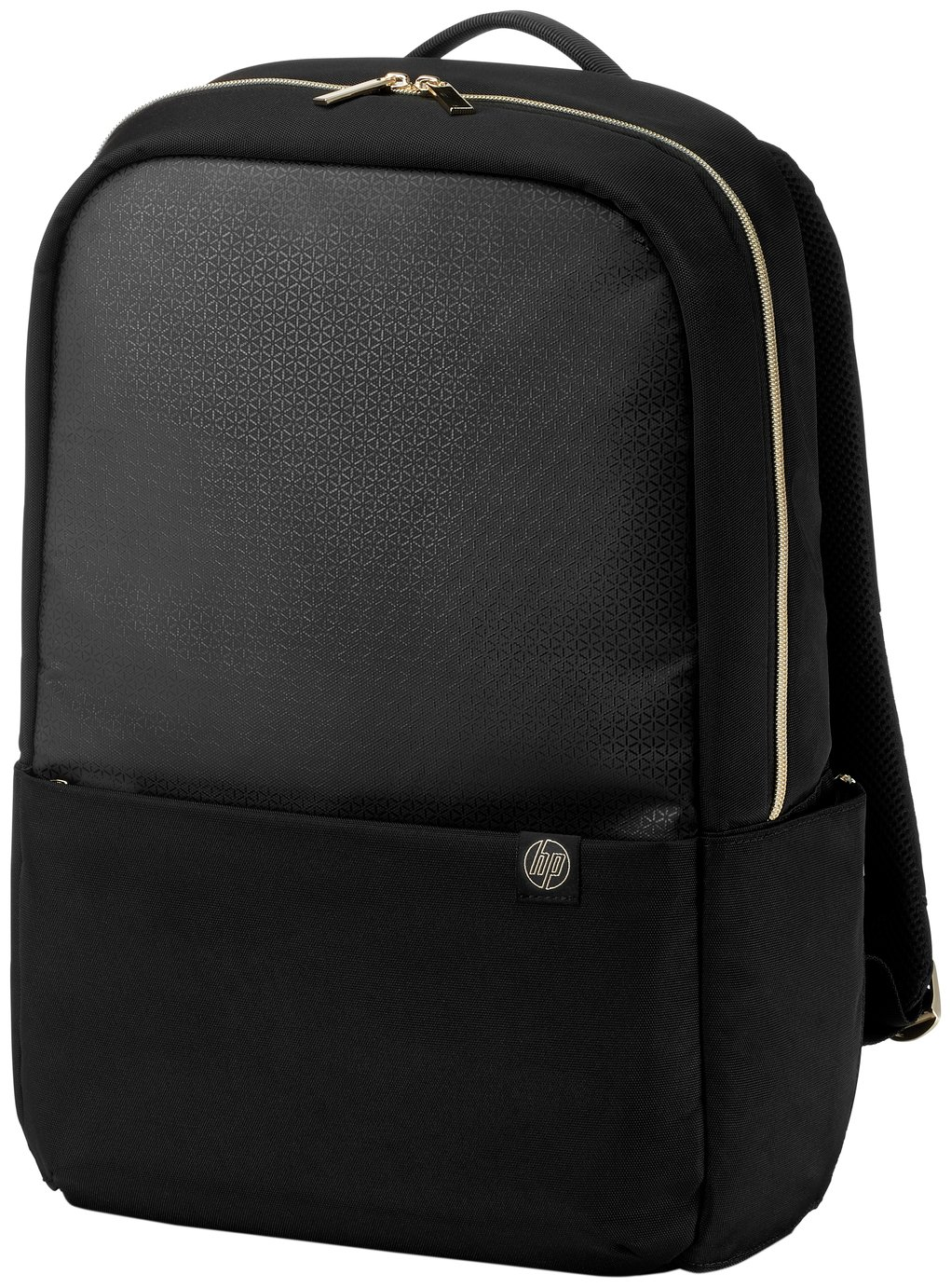 HP Duotone 15.6 Inch Laptop Backpack - Gold
