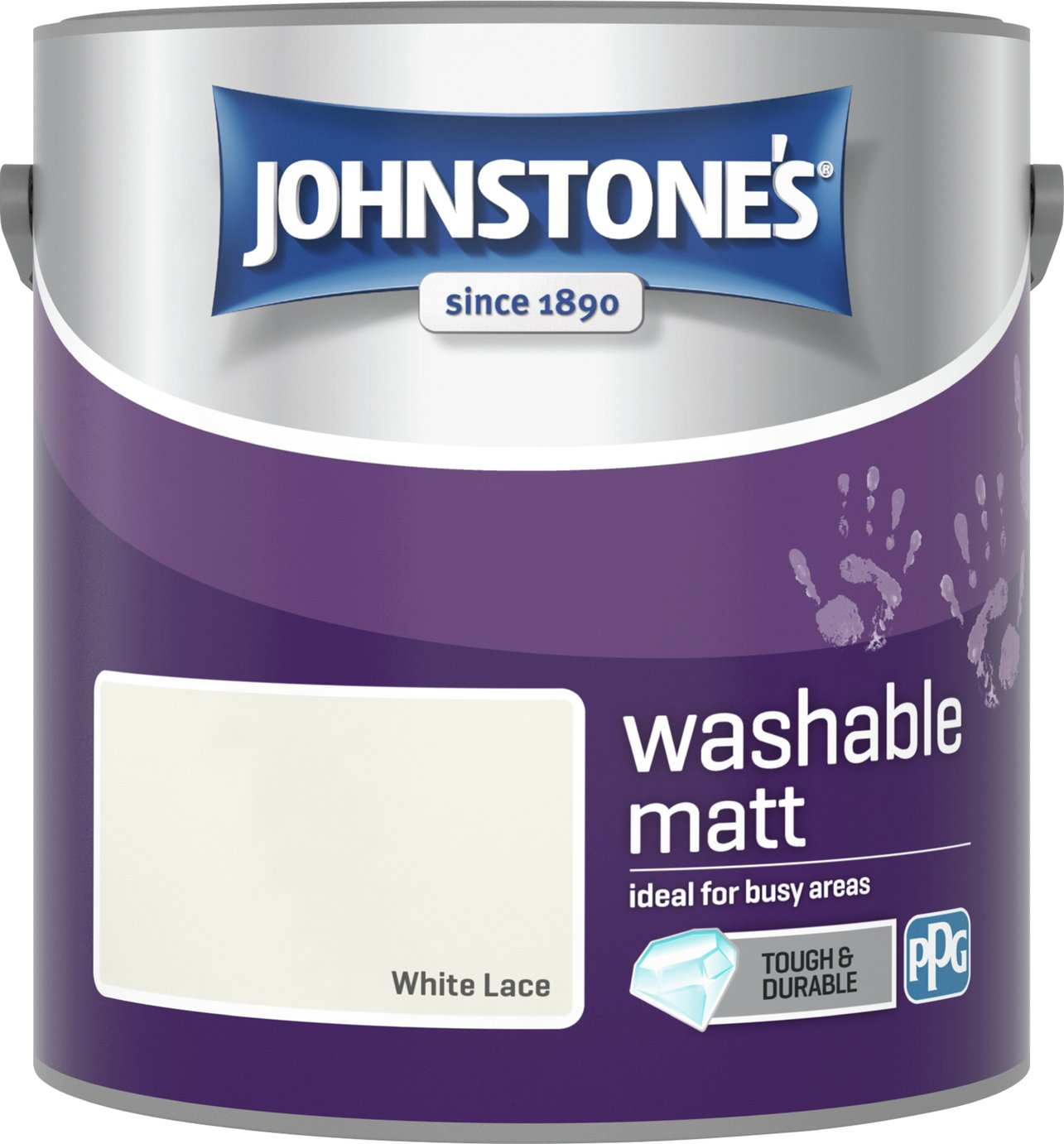 Johnstone's Washable Lace Paint 2.5L - White