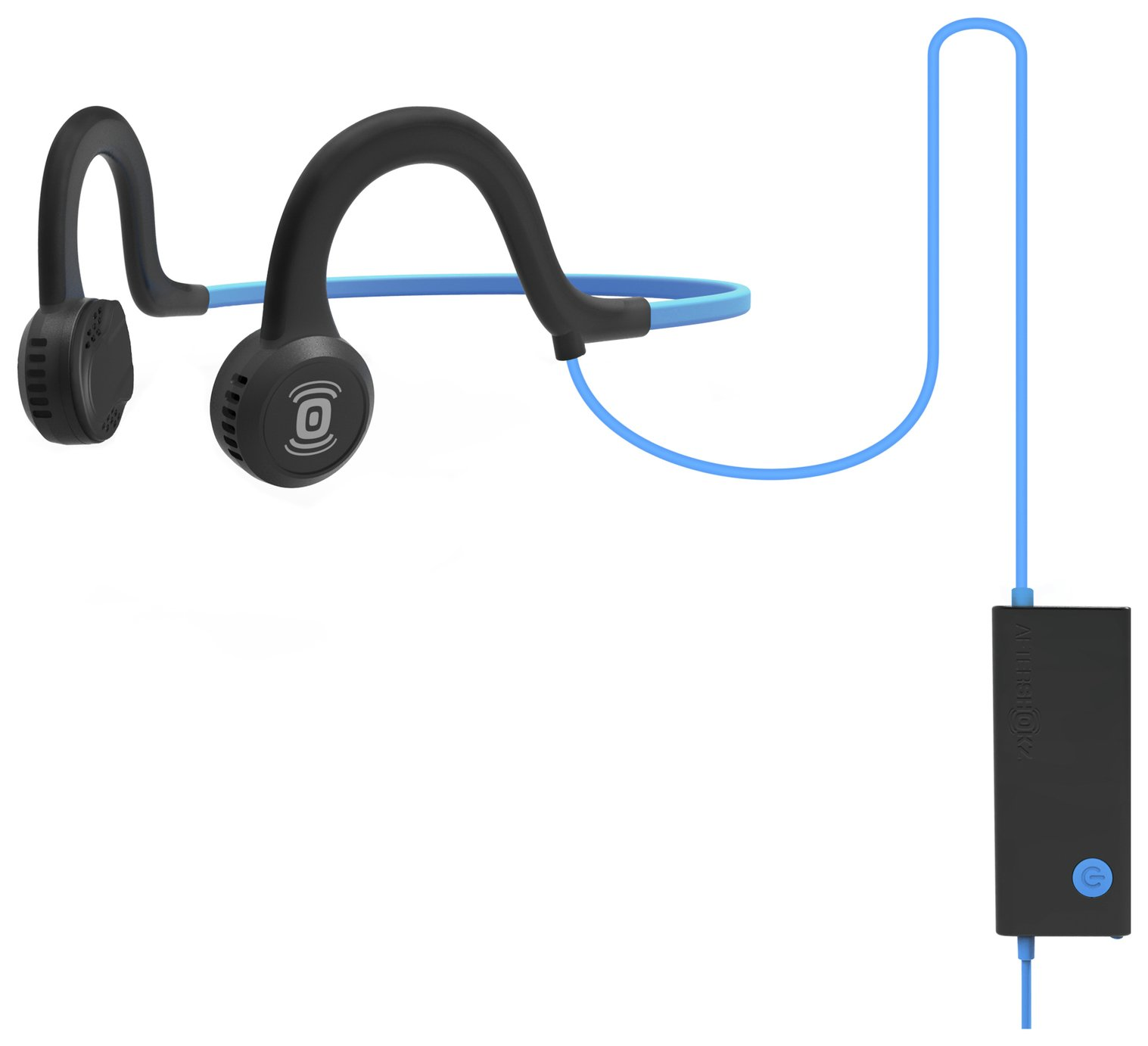Aftershokz Sportz Titanium Open-Ear Wireless Headphones-Blue