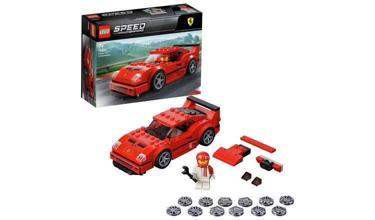 LEGO Speed Champions Ferrari F40 Toy Car Model - 75890