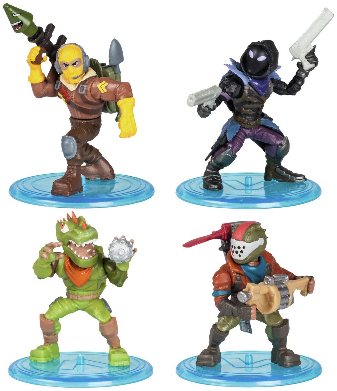 Battle Royale Fortnite Mini Action Figures Squad Pack