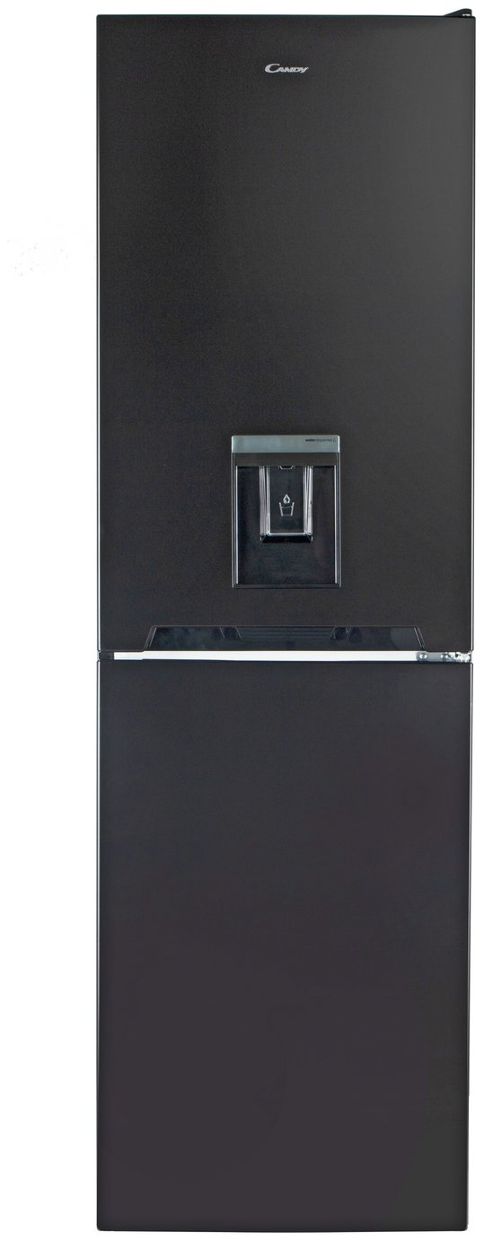 Candy CVS1745SBWDK Fridge Freezer - Black