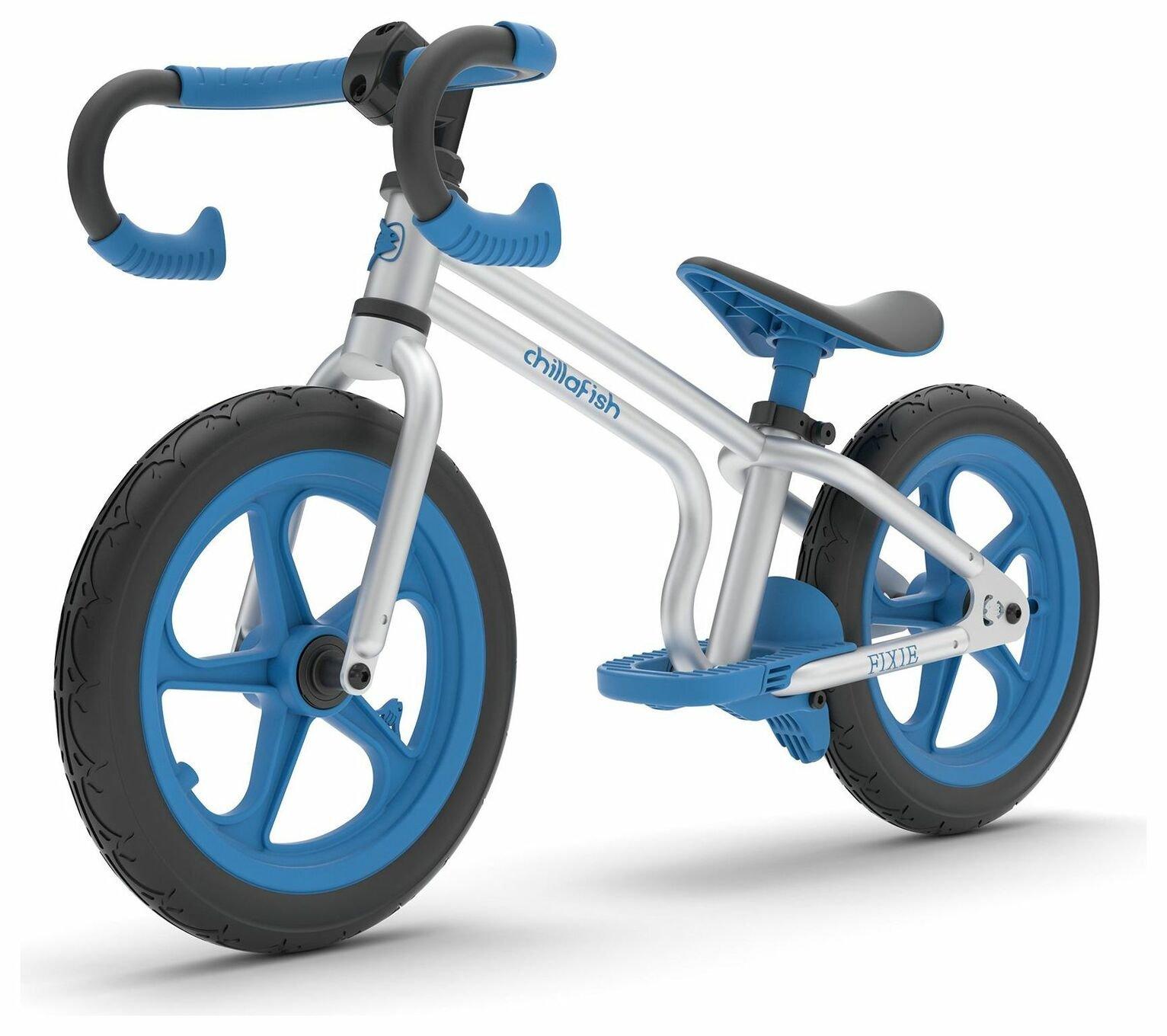 Chillafish Fixie Balance Bike - Blue