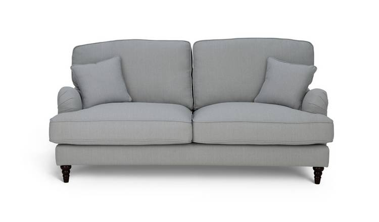 Habitat Matilda 3 Seater Fabric Sofa - Grey