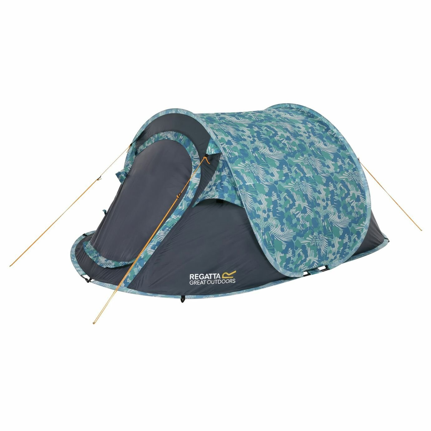 Regatta 2 Man Blue Pop Up Tunnel Tent