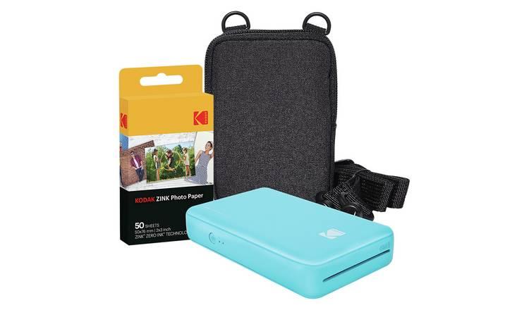 Case Blue Mini Pack : Buy kodak mini 2 instant photo printer pack blue digital photo