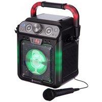 Singing Machine Karaoke with Bluetooth Lights