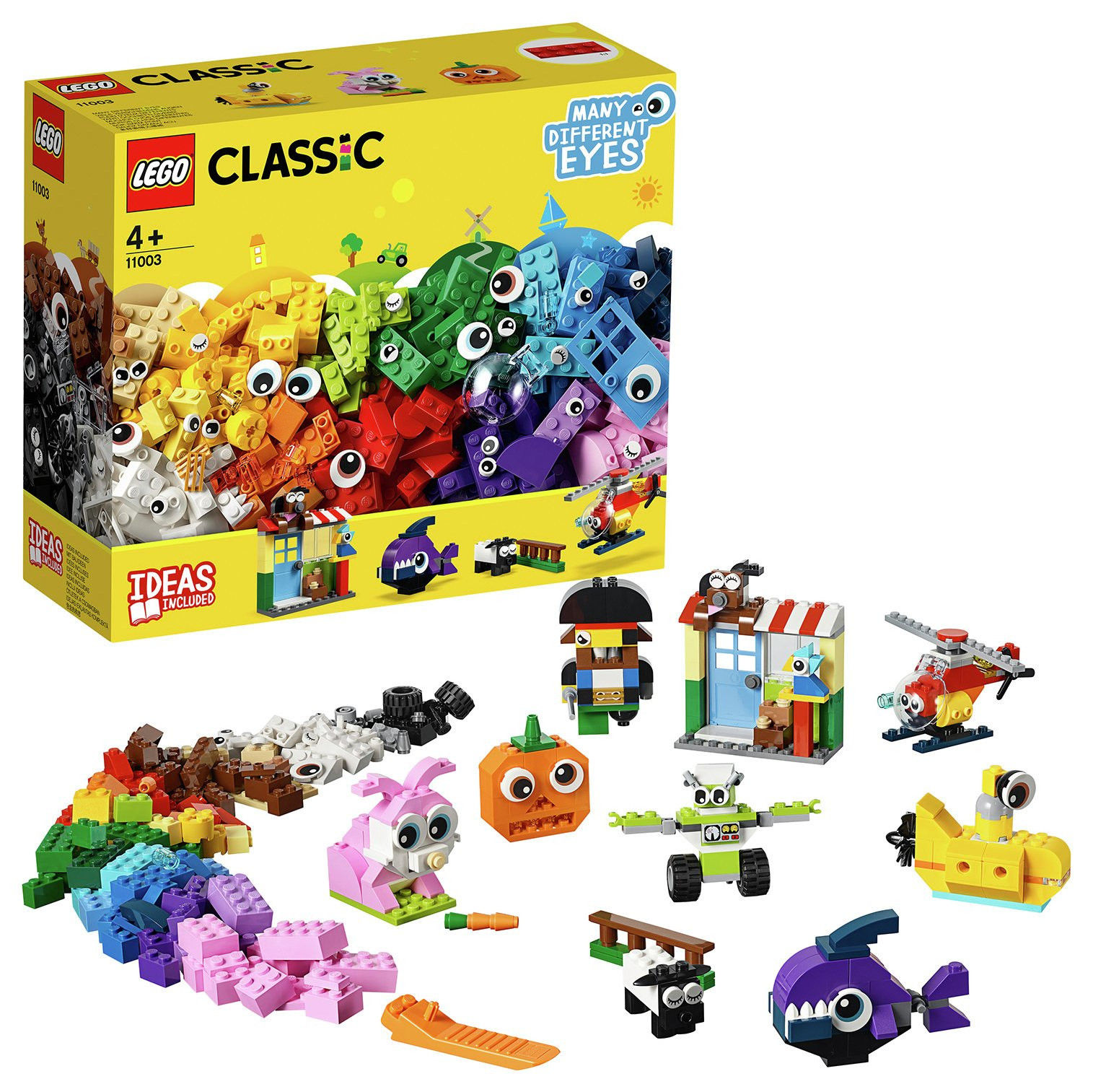 LEGO Classic Bricks and Eyes 11003 Building Kit - 11003