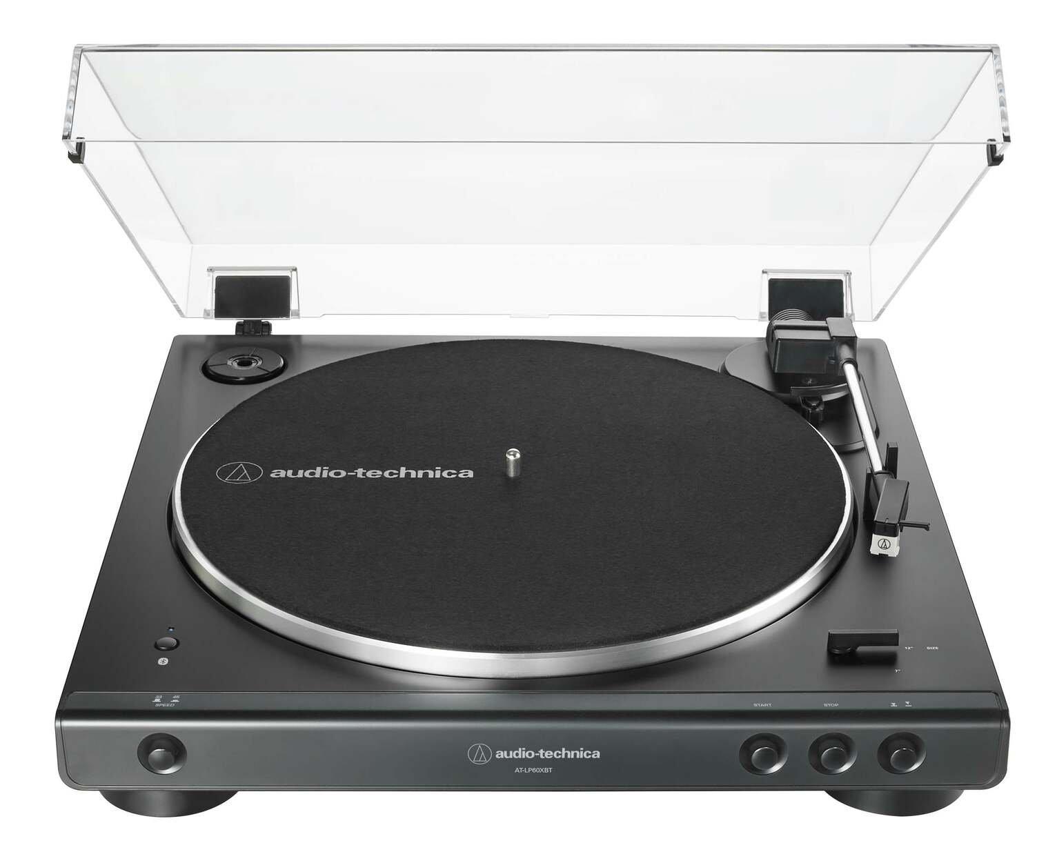 Audio-Technica AT-LP60XBTBK Wireless Belt-Drive Turntable