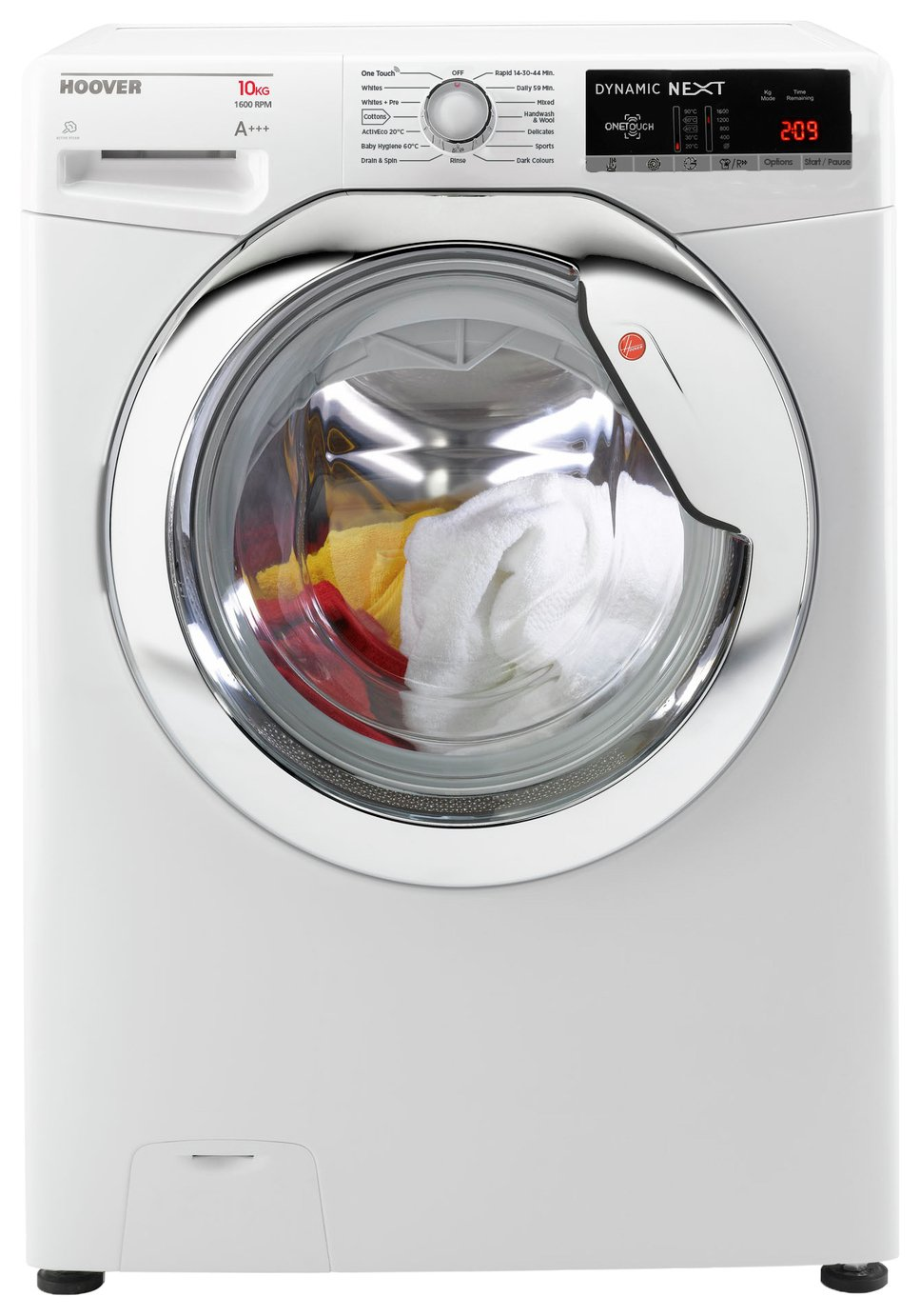 Hoover DXOA 610HCW 10KG 1600 Spin Washing Machine - White