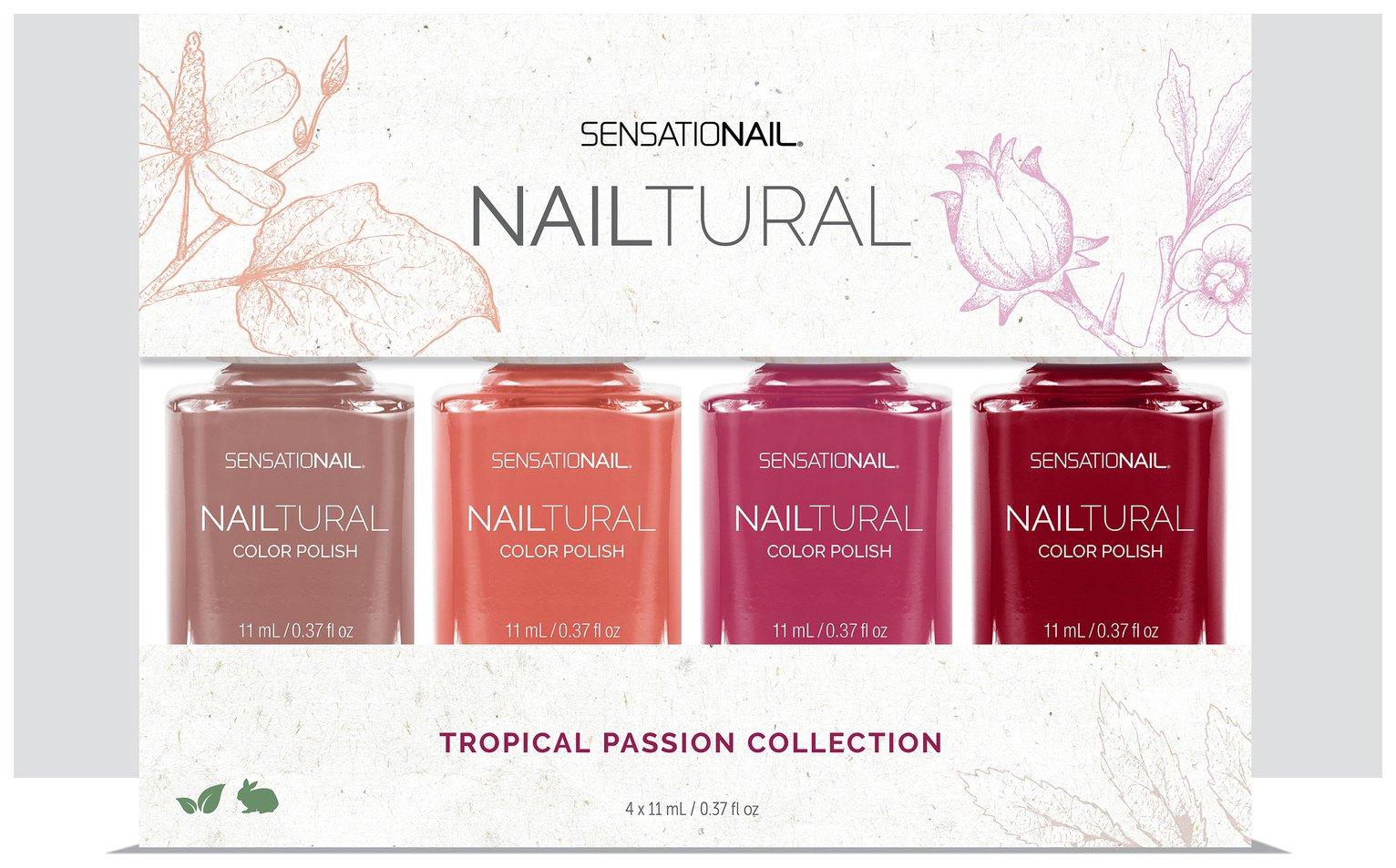 SensatioNail Nailtural Colour Bundle - 4 Pack