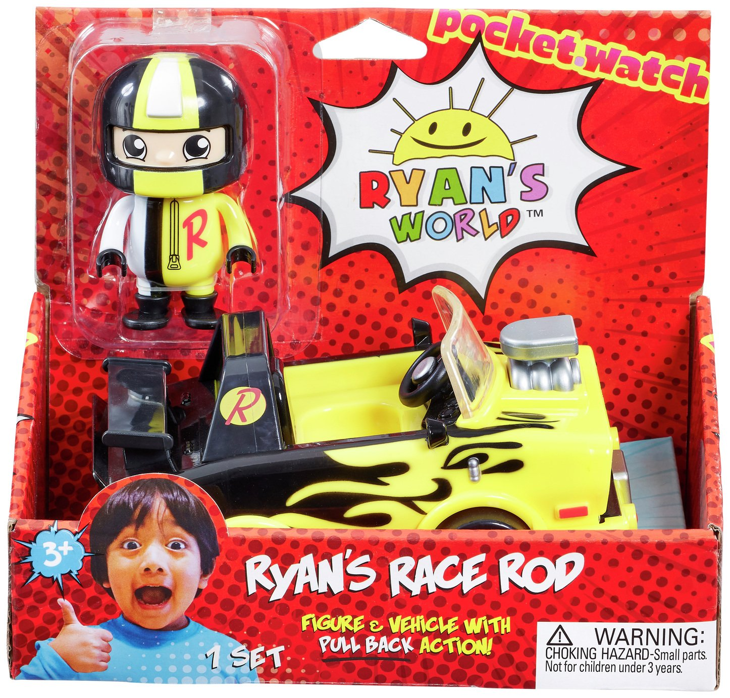 Ryan's World Vehicle and Figure