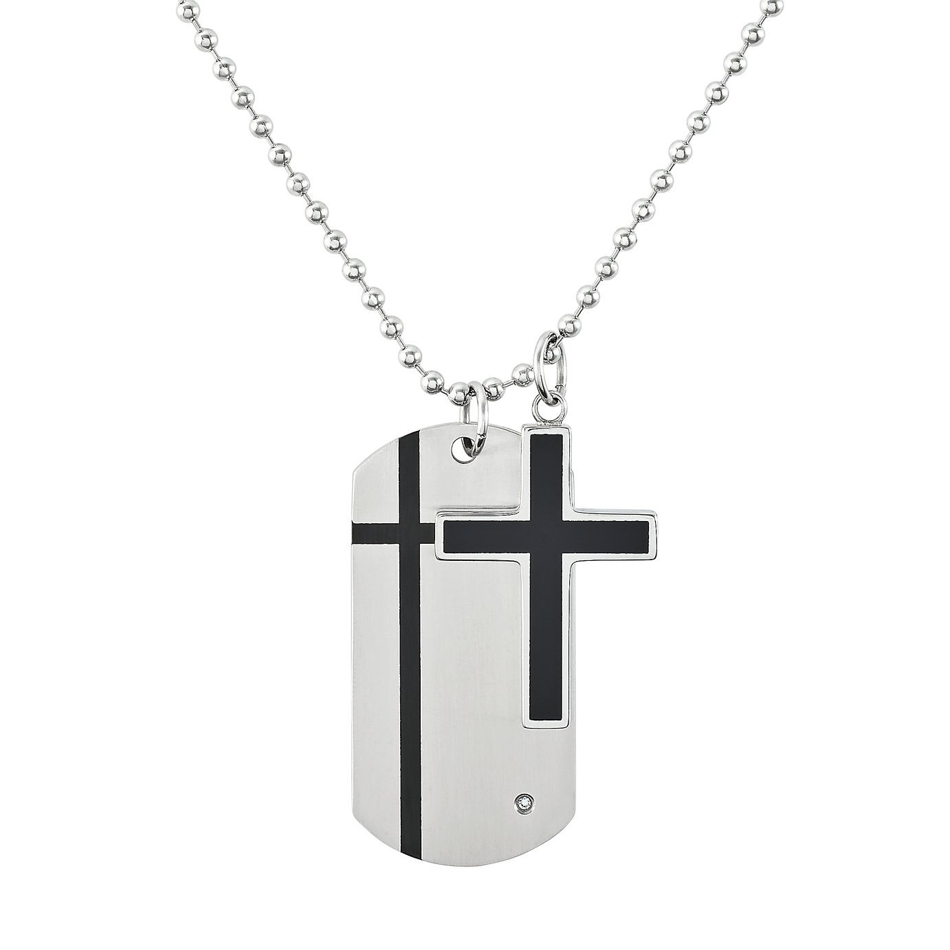 Revere Stainless Steel Dog Tag Pendant review