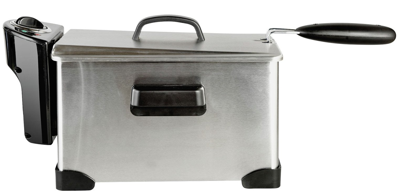 Cookworks XJ-10302 Semi Professional Fryer - Stainless Steel