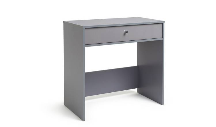 Habitat Compact Laptop Desk - Grey