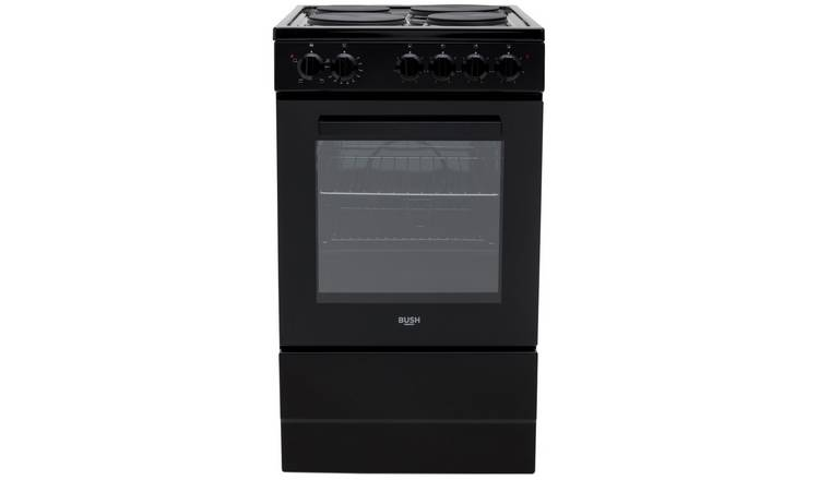 Bush BESAW50B 50cm Single Electric Cooker - Black