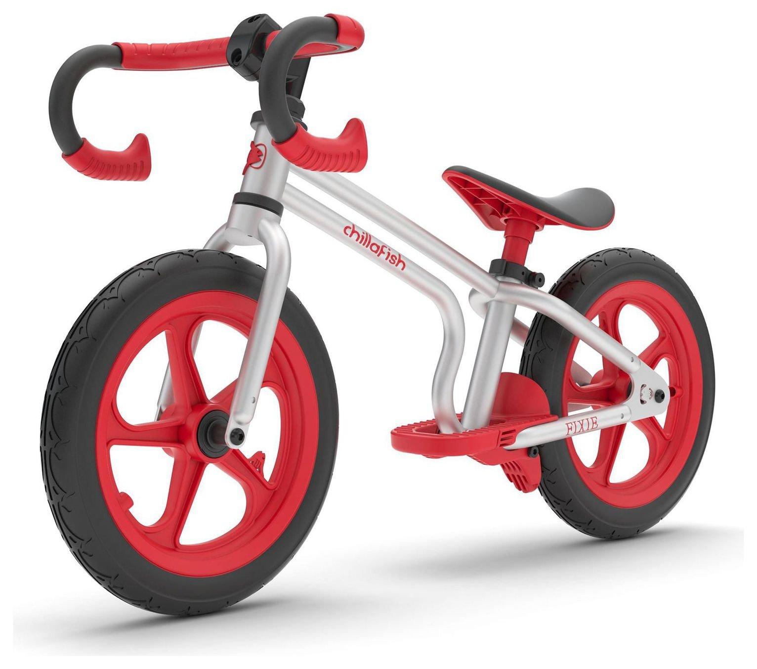 Chillafish Fixie Balance Bike - Red