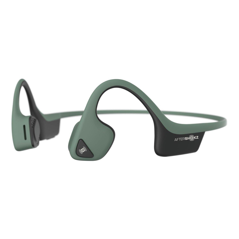 Aftershokz Trekz Air Open-Ear Wireless Headphones-Green