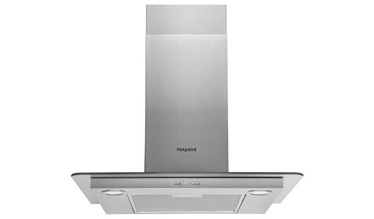 Hotpoint PHFG7.4FLMX 70cm Cooker Hood - Stainless Steel