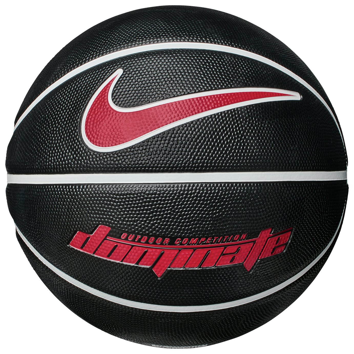 Nike Dominate Basketball - Black and White