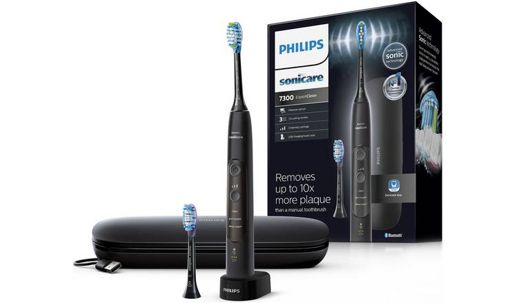 Philips Sonicare ExpertClean 7300 Electric Toothbrush -Black