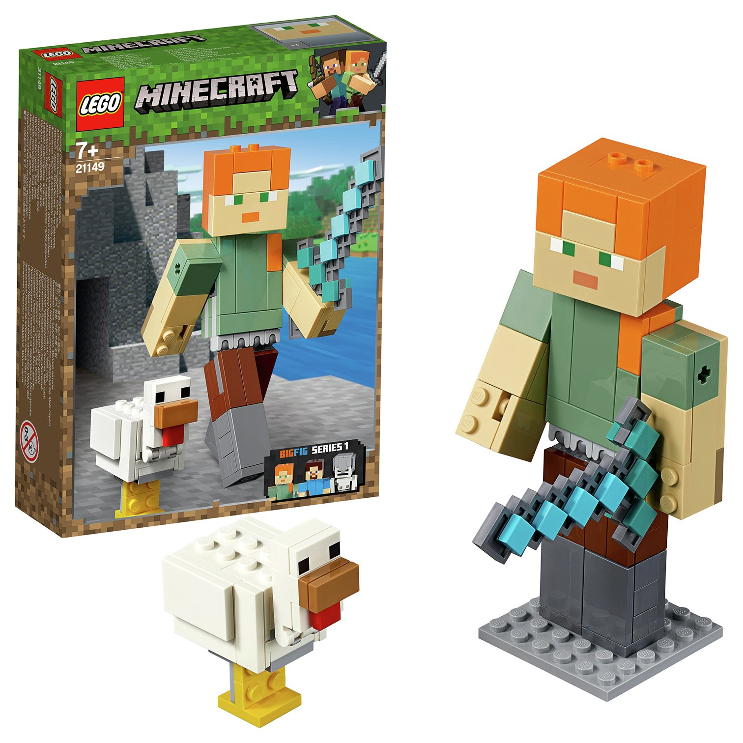 LEGO Minecraft Alex BigFig with Chicken Playset - 21149