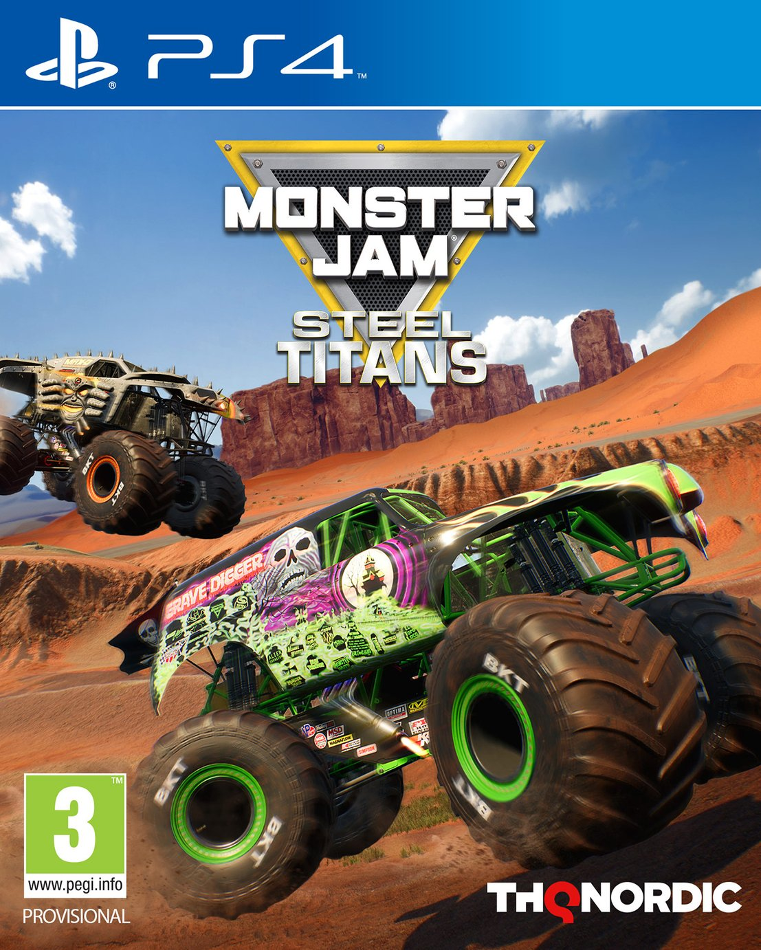 Monster Jam: Steel Titans PS4 Game